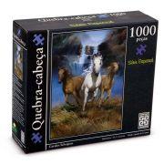 Quebra cabeça Cavalo selvagens 1000 preças - B6 -  136029