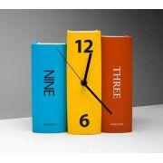 Relógio Livro / Book Clock -  D1  - 3991