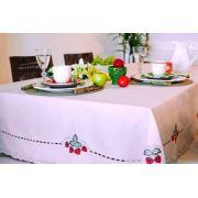 Toalha Mehndi Morangos - Retangular -  170x220cm - 286940