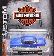 1955 buick Harley Davidson Hd Maisto 1/64