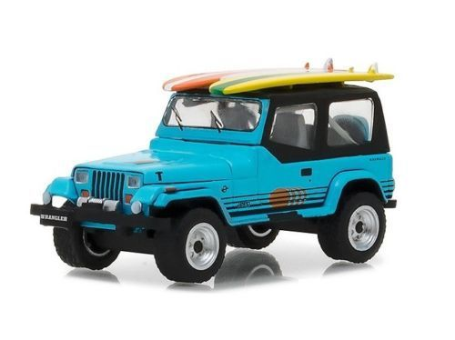 1987 Jeep Wrangler YJ With Surfboards - 380577