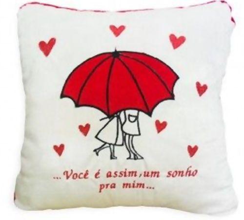 Almofada Romantica - Guarda Chuva - 335091