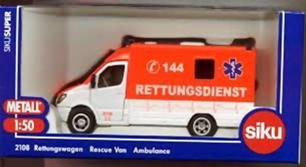 Ambulância MB Rettungsdienst - 344983