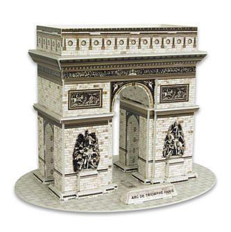 Arc de Triomphe Paris 3D - 26 Peças B3 - 137527