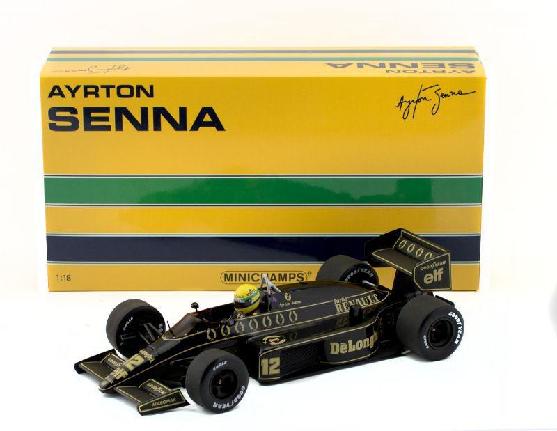 Ayrton Senna 1986- Lotus 98T - 378906