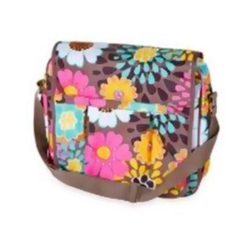Bolsa Carteiro Mocha Flower - 250759
