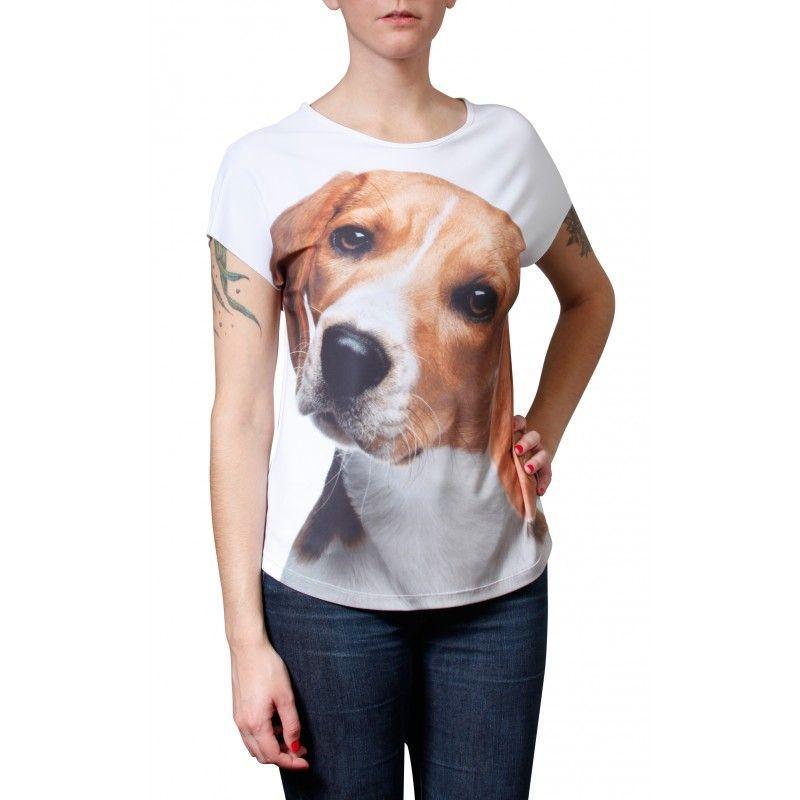 Camiseta Evasê Beagle - 340729