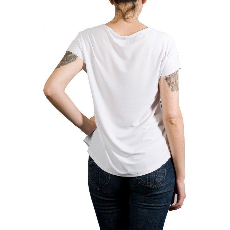Camiseta Evasê Chihuahua Óculos - 341197