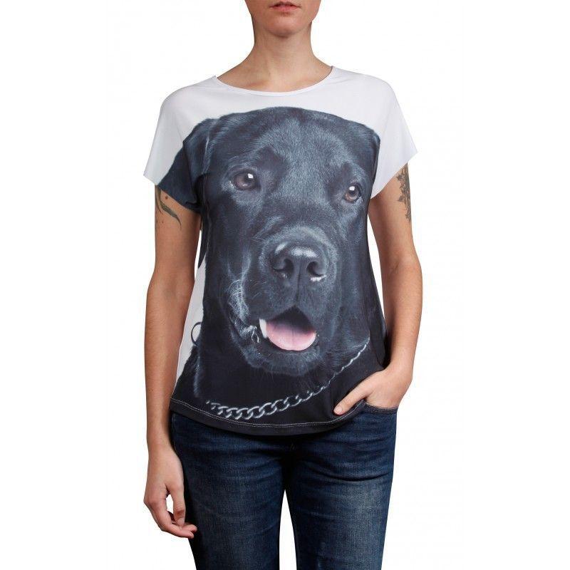 Camiseta Evasê Labrador - 341326