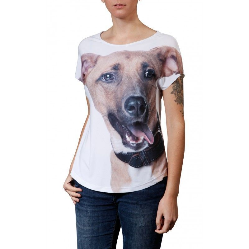 Camiseta Evasê Vira-Lata - 340699