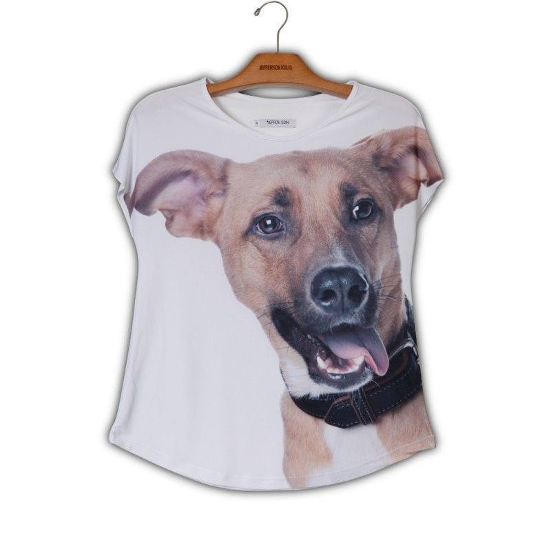 Camiseta Evasê Vira-Lata - E1 340699