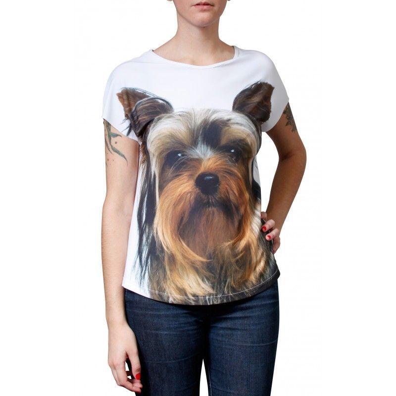 Camiseta Evasê Yorkshire - 340704