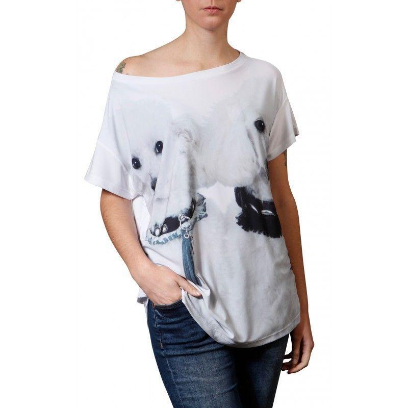 Camiseta Quadrada -  Poodle - 341330