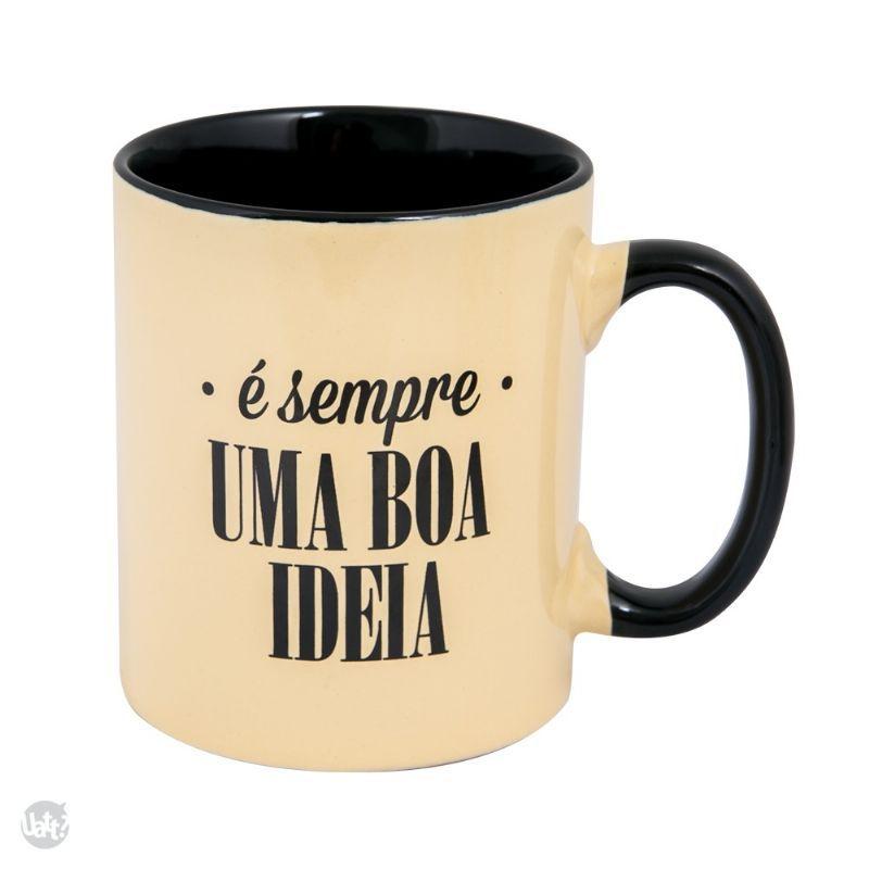 Caneca cafe - e sempre uma boa ideia - C3 368487