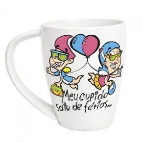 Caneca Meu Cupido Saiu de Férias - C3 3971