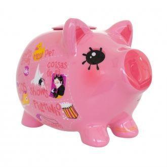 Cofrinho Porco dos Desejos Rosa - 252981
