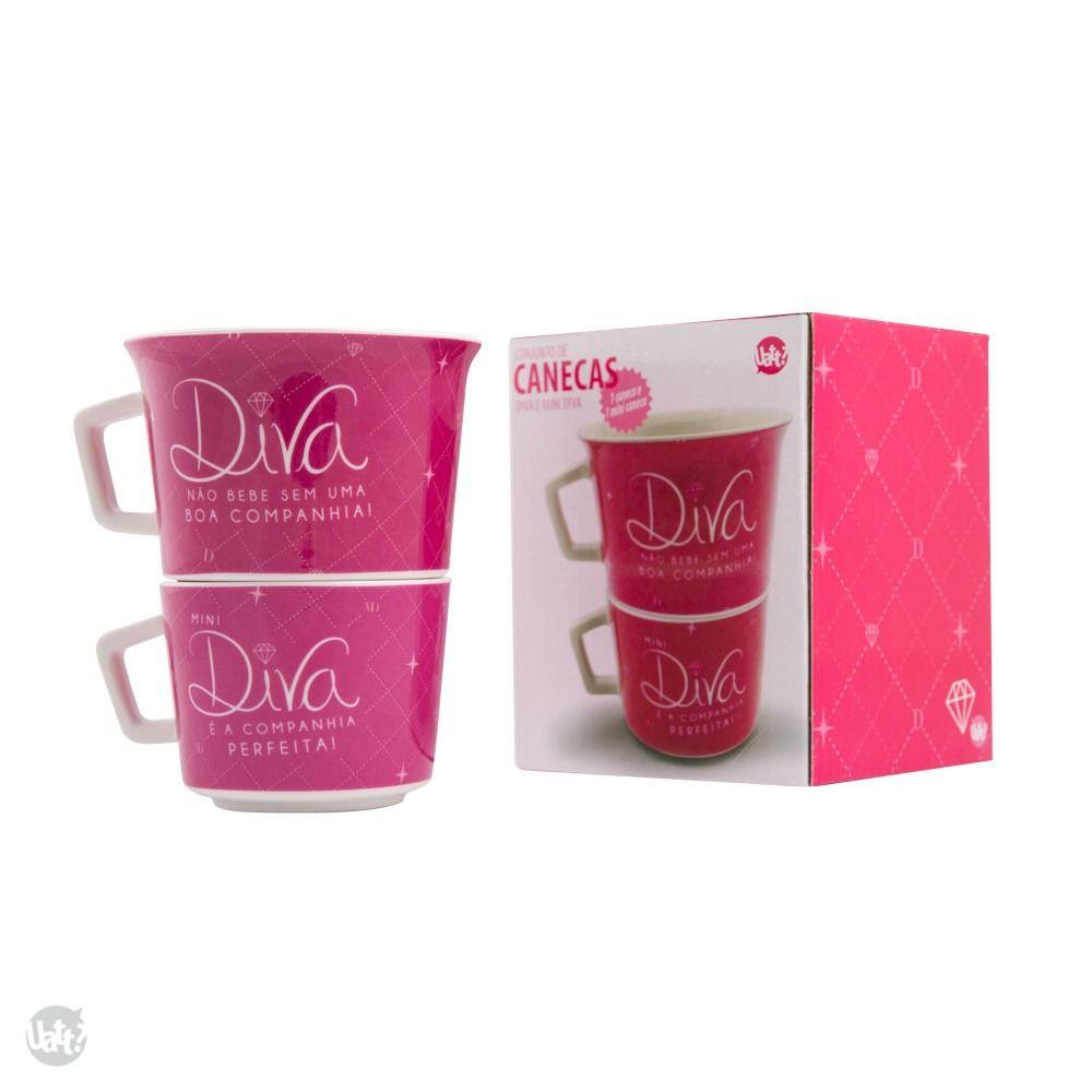 Conjunto de Canecas Diva - C2 3947