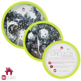 Conjunto Porta Retrato - 3 Circulos - G8 338900