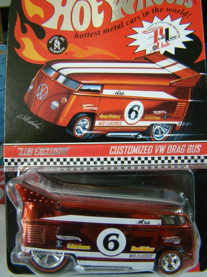 Customized VW Drag Bus - 228494