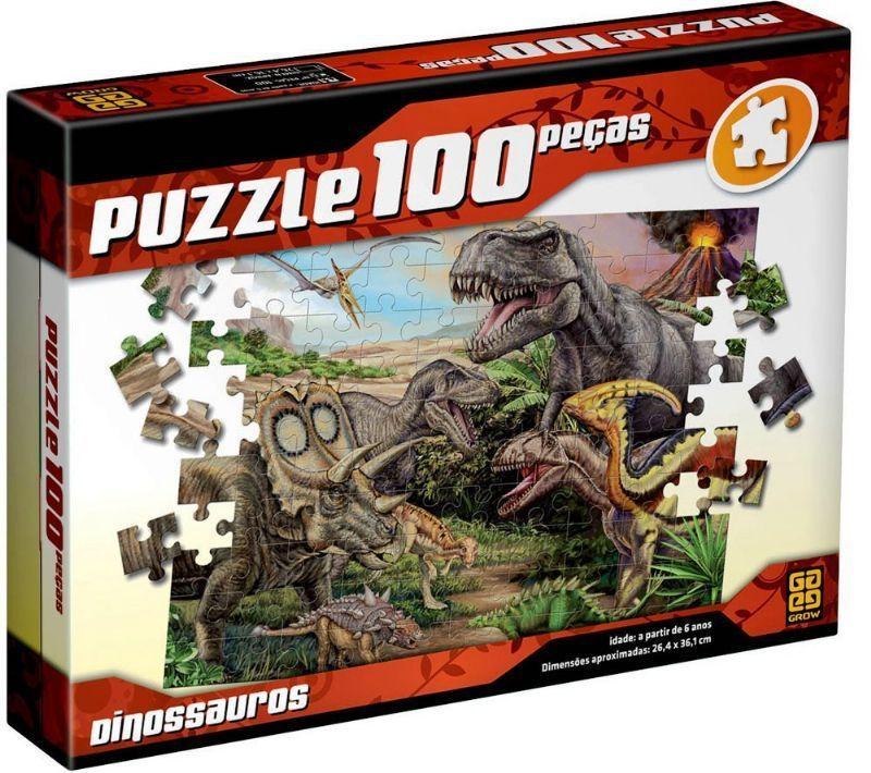Dinossauros - 100 Peças  B4 / B5/1/2  - 277911