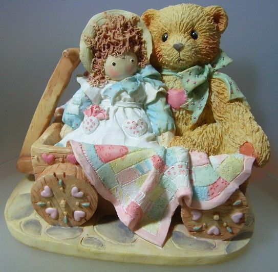Enfeite Cherished Teddies Molly - G12 1851