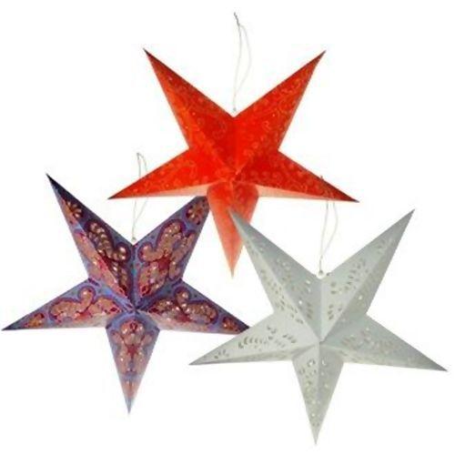 Estrela Origami Laranja - 239252