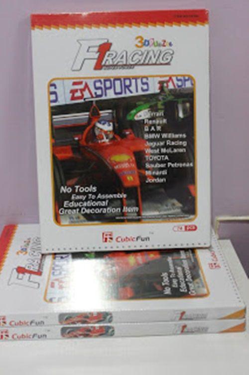 F1 Rancing 3D - 74 Peças  B3 - 251905