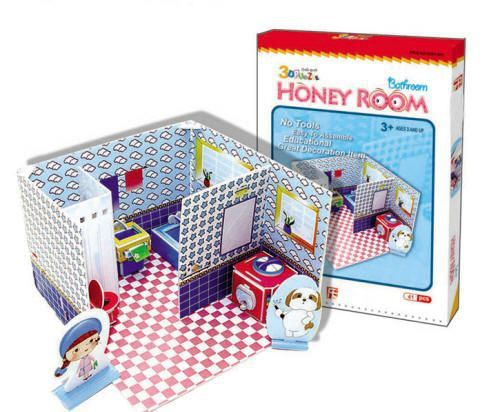 Honey Room Bathroom 3D - 41 Peças B2 - 137552