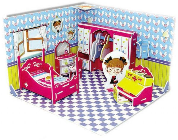 Honey Room Bedroom 3D - 63 Peças B3 - 137556