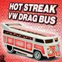 HW Hot Streak VW Bus - 344452
