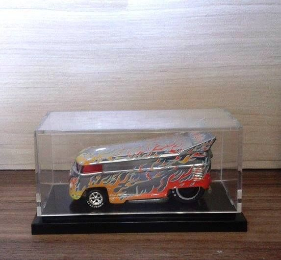 HW Superflames Series VW Bus #1 Blazin Bus - Rebel Run - 344775