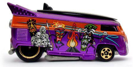 HW Surfin Series #4 Freaky Tiki - 344704