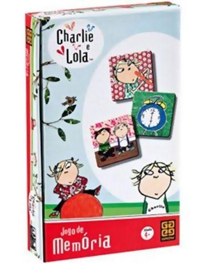 Jogo de Memória Charlie e Lola  B4 - 251877