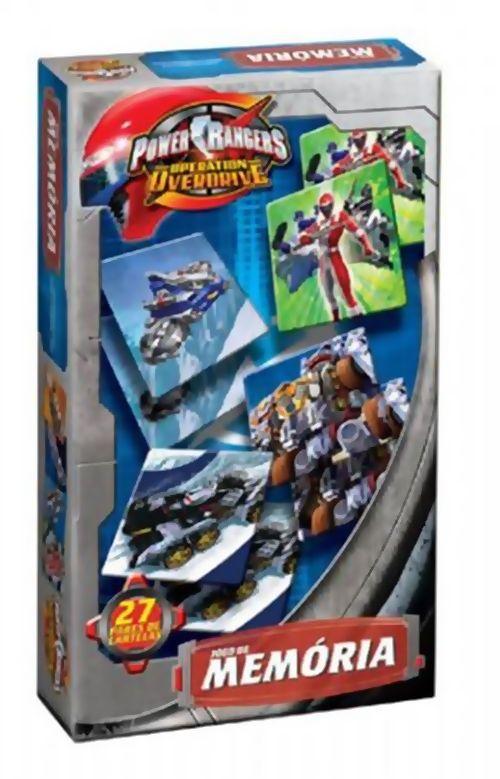 Jogo de Memória Power Rangers - 136095