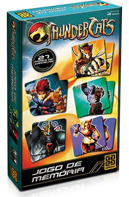 Jogo de Memória Thundercats B4 - 278817
