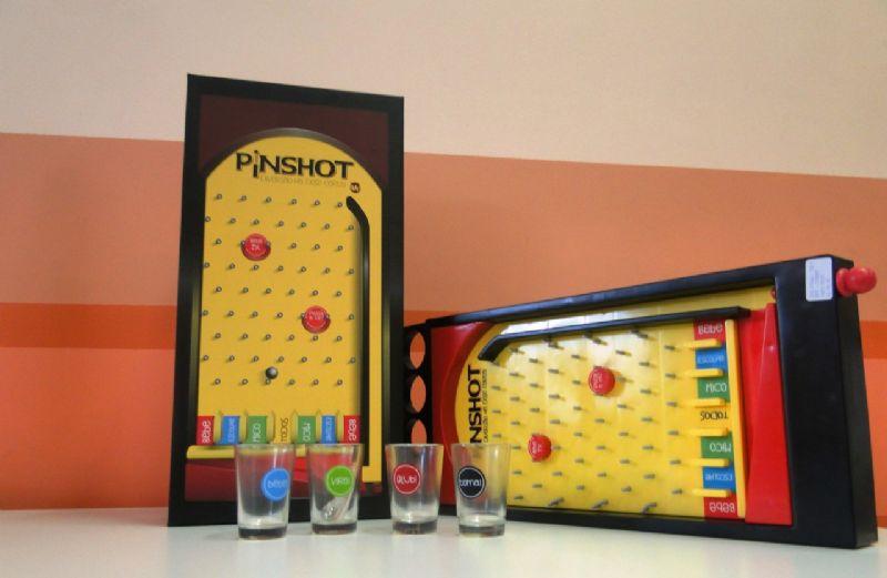 Jogo Pinball com Copos - Pinshot - G4 330937