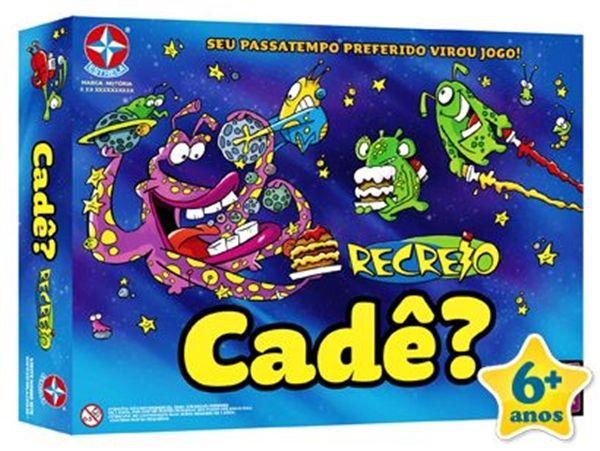 Jogo Recreio Cade? -  B7 -246093