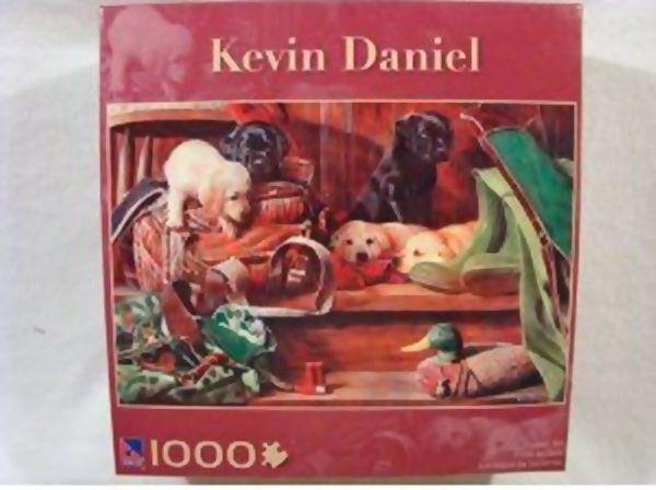 Kevin Daniel - 1000 Peças -  212544
