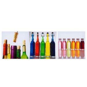 Kit 3 telas Bottles - 308606