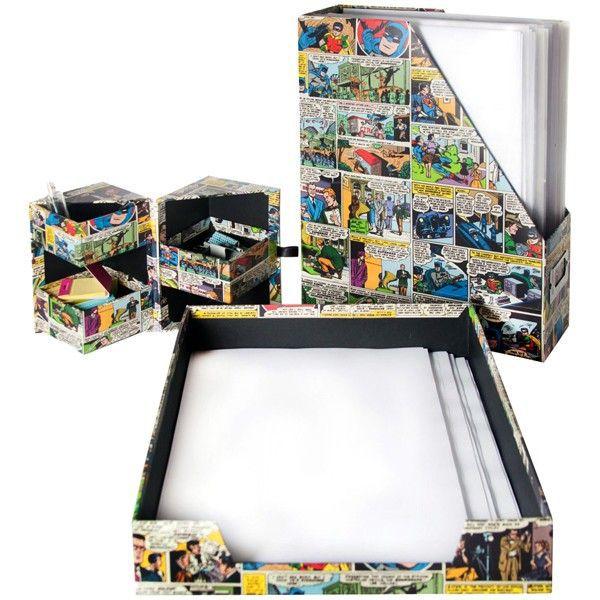 Kit para Escritório DC Comics - G12 381265