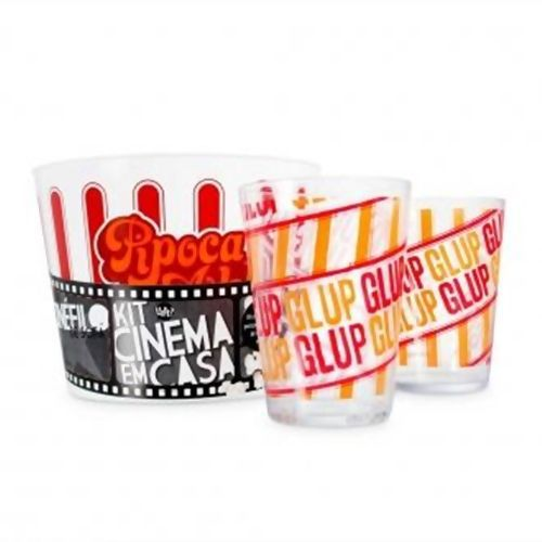 Kit Pipoca Cinema Em Casa  D1  - 277034