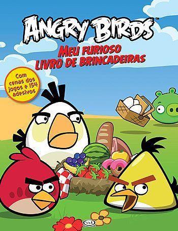 Livro Angry Birds - Meu Furioso Livro de Brincadeiras - 327225