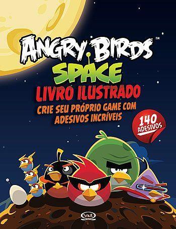 Livro Angry Birds - Space Livro Ilustrado - 327220