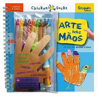 Livro Arte Nas Mãos 234530