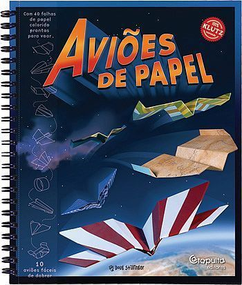 Livro Aviões de Papel - 132441