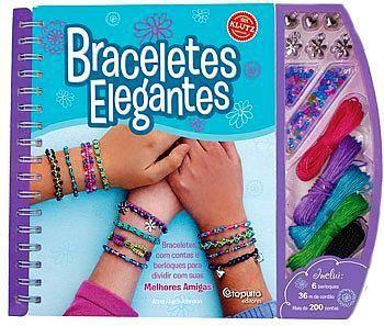 Livro Braceletes Elegantes - 234532