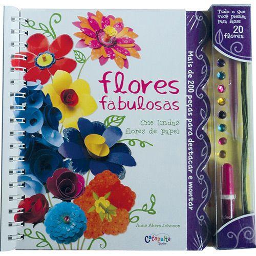 Livro Flores Fabulosas - 327213