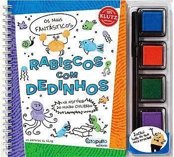 Livro Rabiscos com Dedinhos - 234256