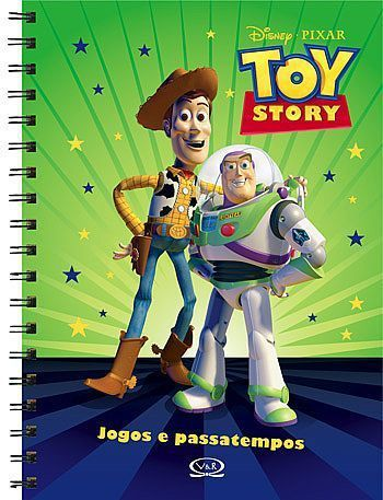 Livro Toy Story - Jogos e Passatempos - 132466