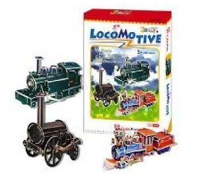 Locomotive 3D - 193 Peças B3 - 252016